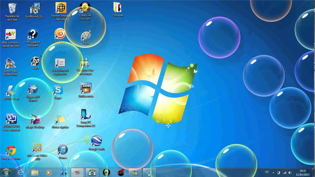 Windows 10 protector de pantalla burbujas en windows 10 for Bajar protector de pantalla gratis
