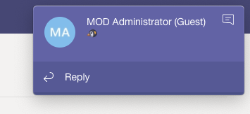 Doesn't get Teams Notification in Mac while in full screen