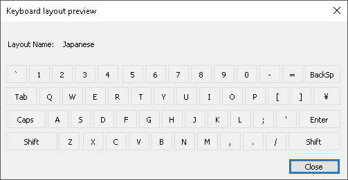 Japanese keyboard. Windows layout wrong. I just cant figure out why