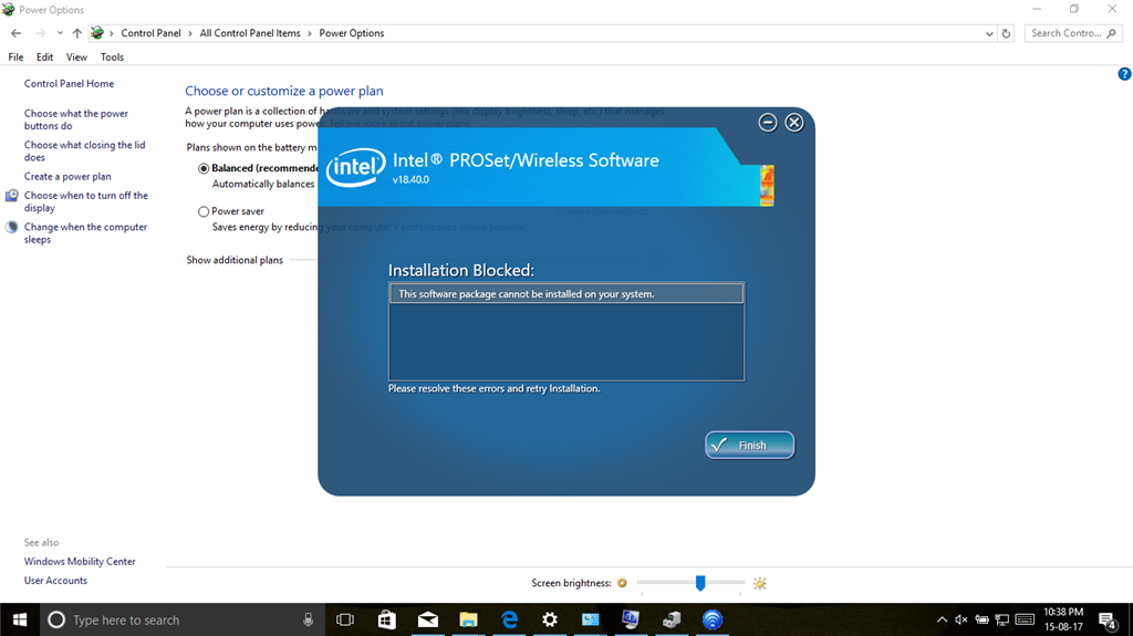 wireless network adapter gone missing in dell vostro 3558