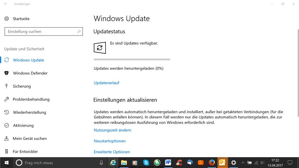 Creators Update: Windows 10 Upgrade Assistent