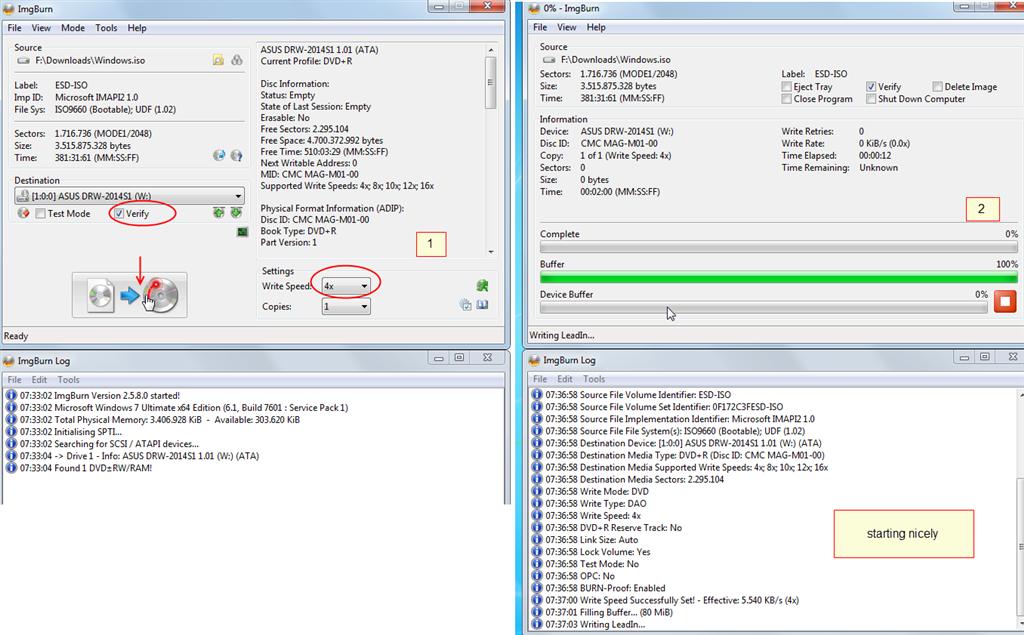 Error code 0x80004005 when burning DVD of Win8 9 Install - Microsoft