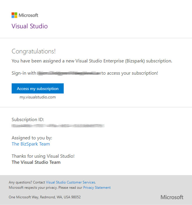 Added Member Cant Login To Bizspark Training Certification And