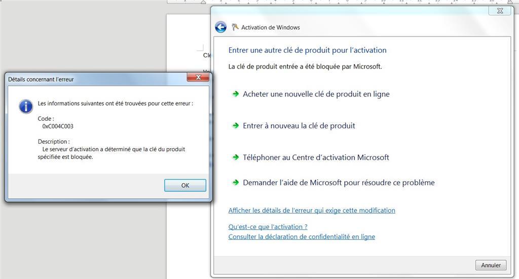 clé dactivation windows 7 numéro 7601 gratuit