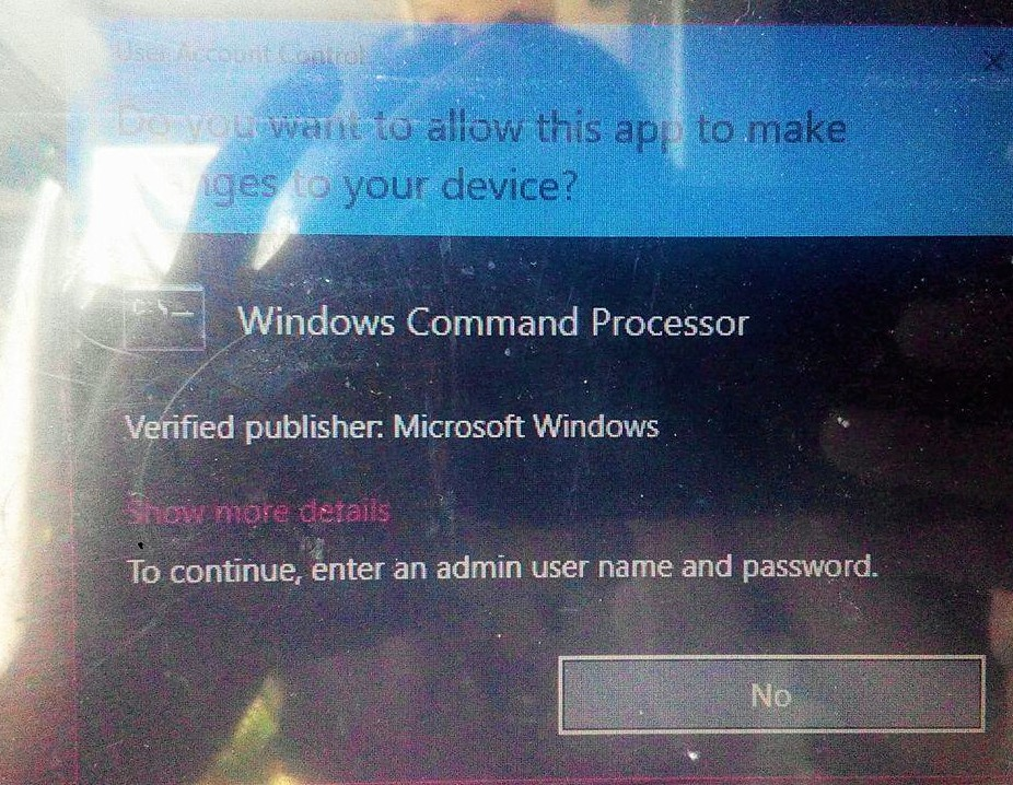 Windows 10 update failure  Can't access to my admin account
