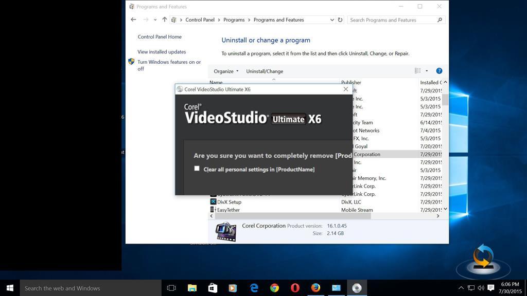 Windows 10 and Corel Video Studio X6 - Microsoft Community