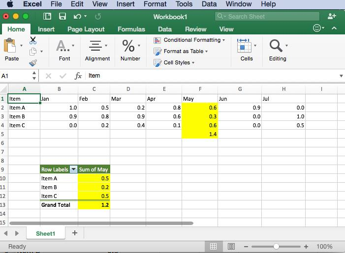 office 365 mac excel pivot table issue microsoft community
