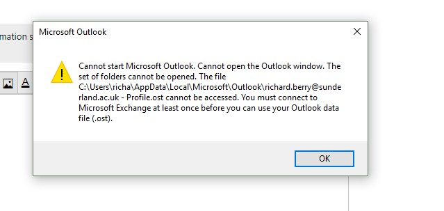 Outlook 2016 cannot connect to exchange - Microsoft Community
