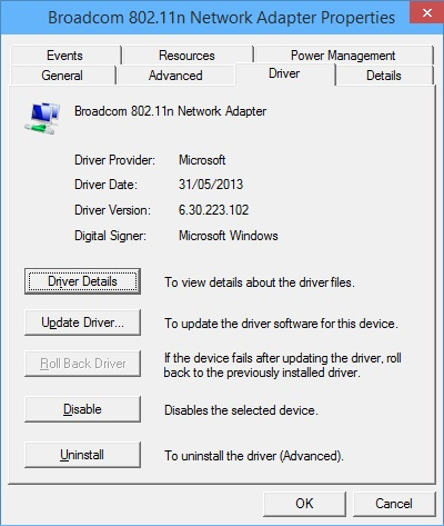 Broadcom 802. 11 multiband network adapter driver xp.