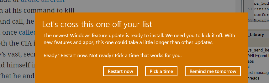 How to remove the lets cross this one off your list microsoft moved from windows windows 10 install upgrade activate ccuart Images