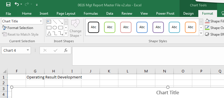 New waterfall chart in excel 2016 microsoft community as you can see the formula bar section is greyed out so i cannot link the title to cell g1 ccuart Image collections