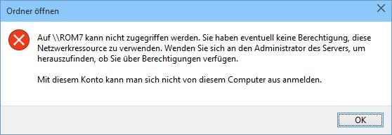 Netzwerkzugriff wird in Build 9926 möglicherweise abgewiesen