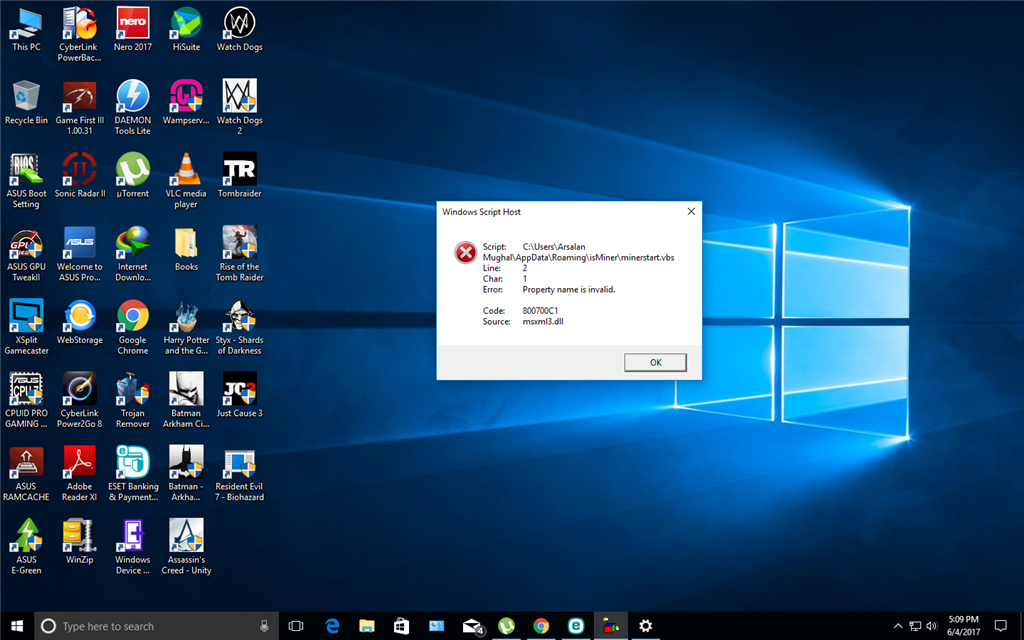 how to change vbs icon windows 10