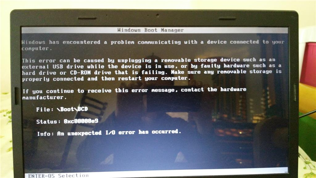 Windows 10 0xc00000e9 error - Microsoft Community