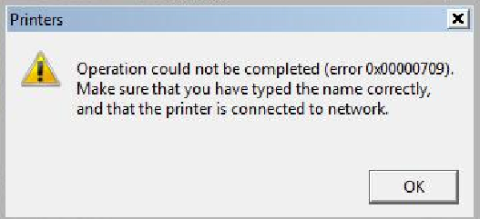 fail to get shared printer from another computer (error code