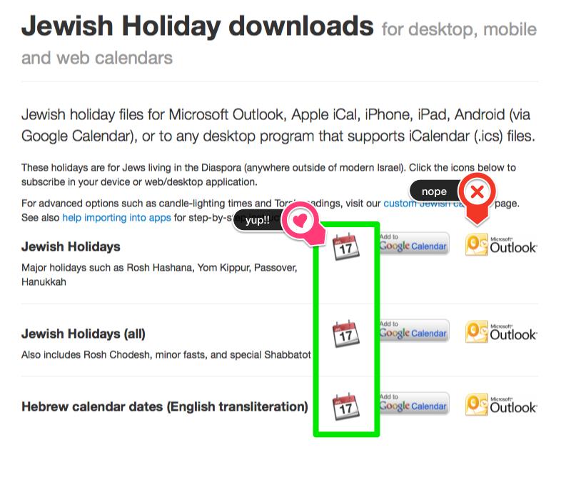 Jewish Holidays - Microsoft Community