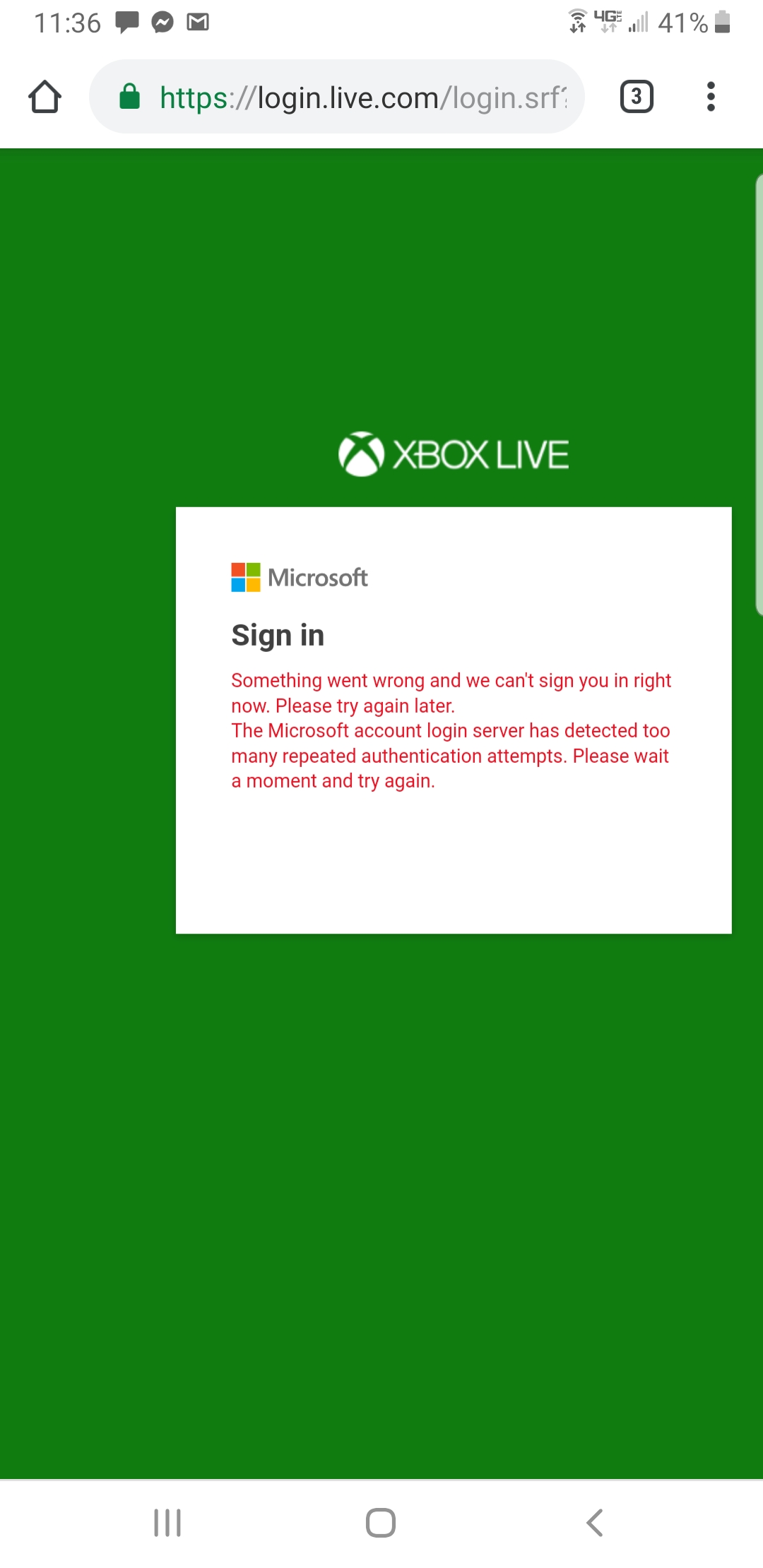 cant access my account, Microsoft wont help [​IMG]