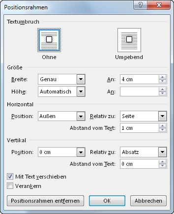 Formatvorlage für Marginalien oder Randziffern/Randnummern ...