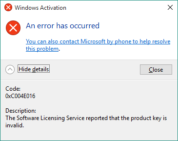 free activation codes for windows 10