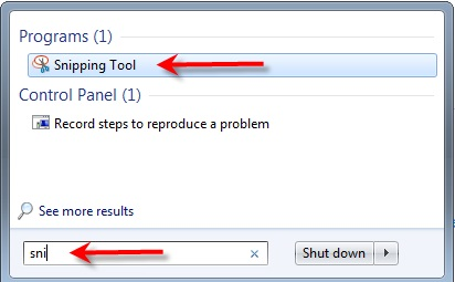 microsoft snipping tool download windows 7 starter