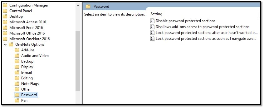 How to Disable Password Protection in OneNote - Microsoft Community