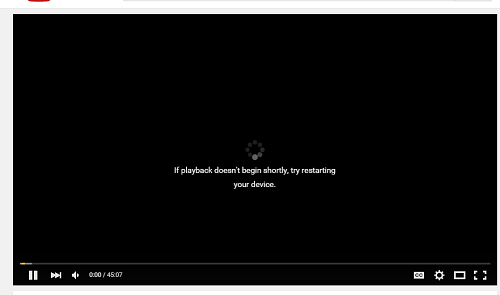 youtube not opening on google chrome