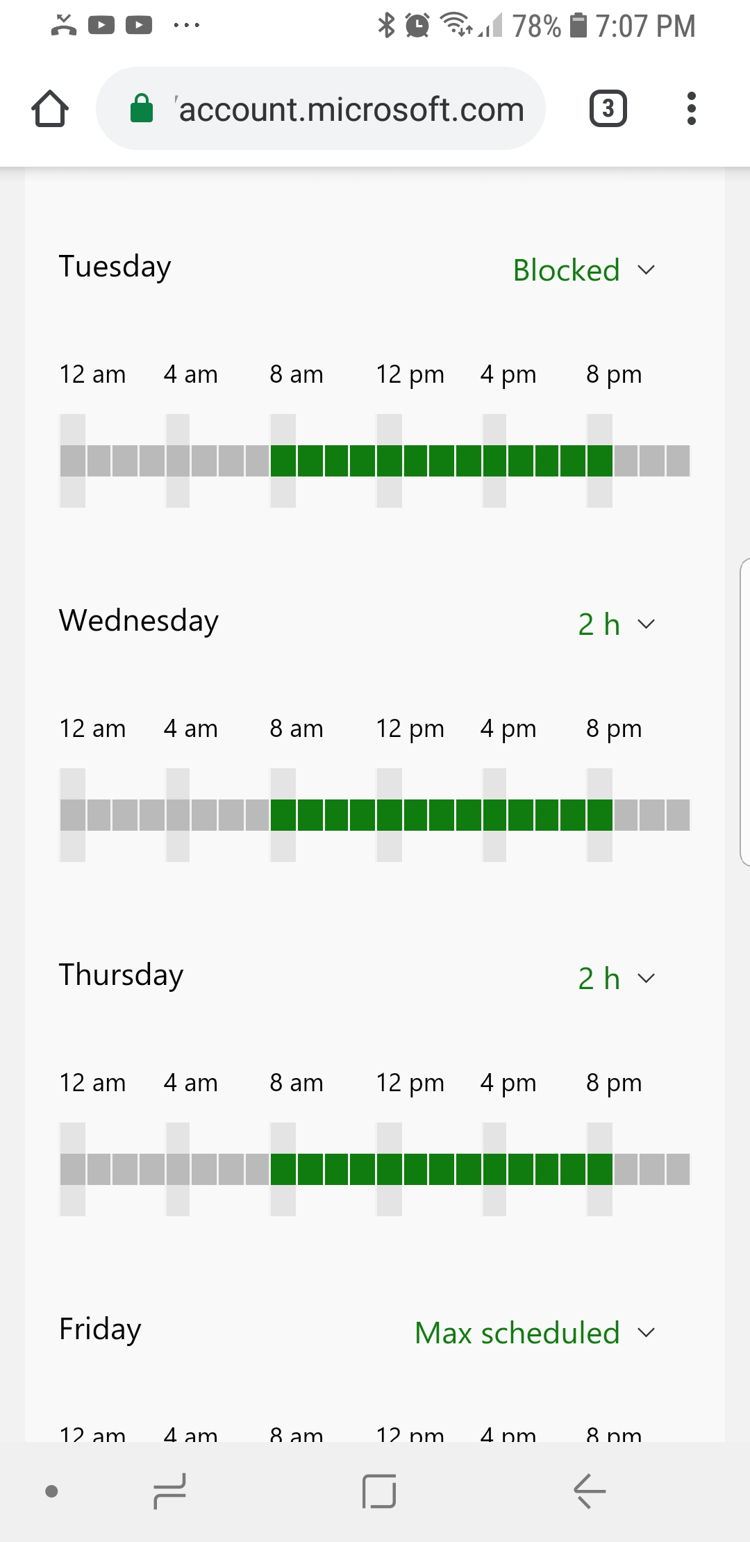 Xbox screen time limits not working [IMG]