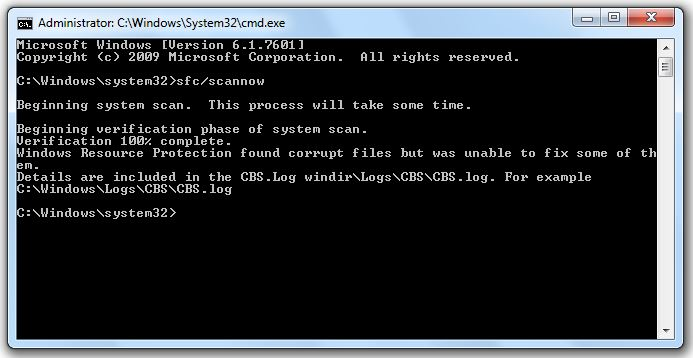 Error 0x8007045D: the request could not be performed because of an