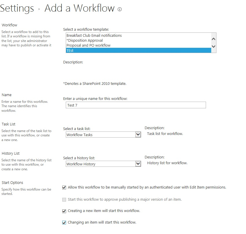 SharePoint 2013 Workflow Not Started Status - Microsoft Community