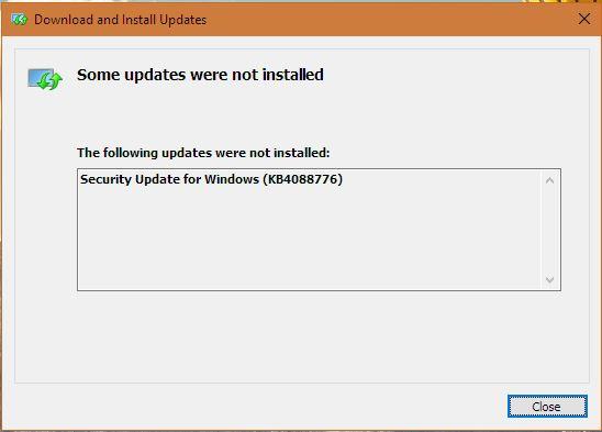 2018-03 Cumulative Update for Windows 10 Version 1709 for
