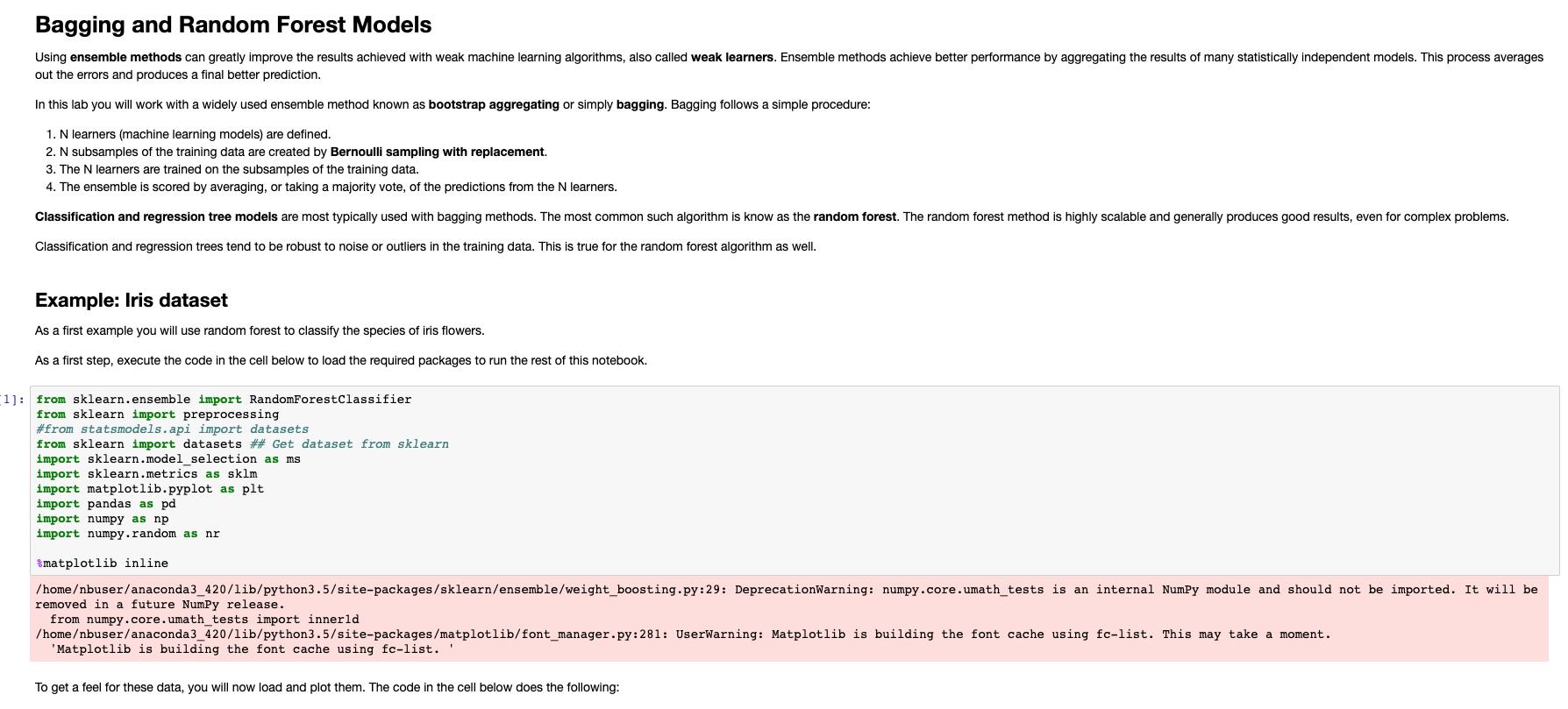 Microsoft: DAT275x Principles of Machine Learning: Python