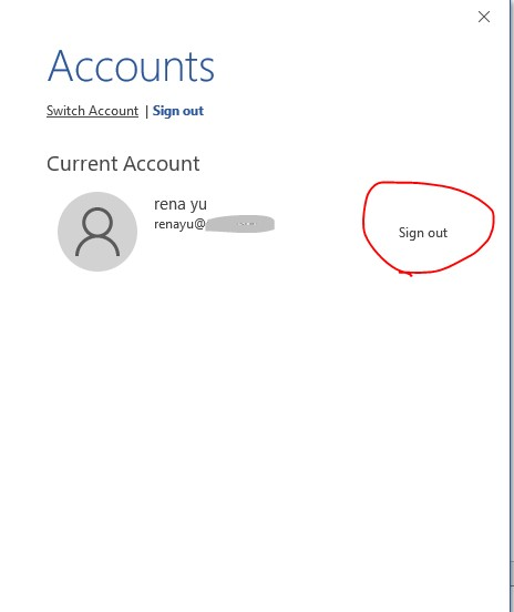 how to delete personal office 365 account