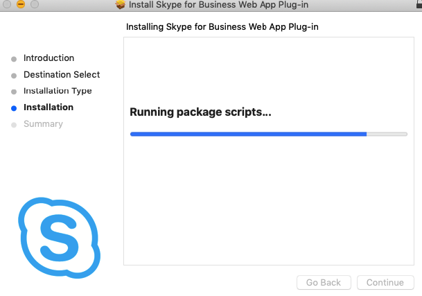 install skype for business web app plug-in mac