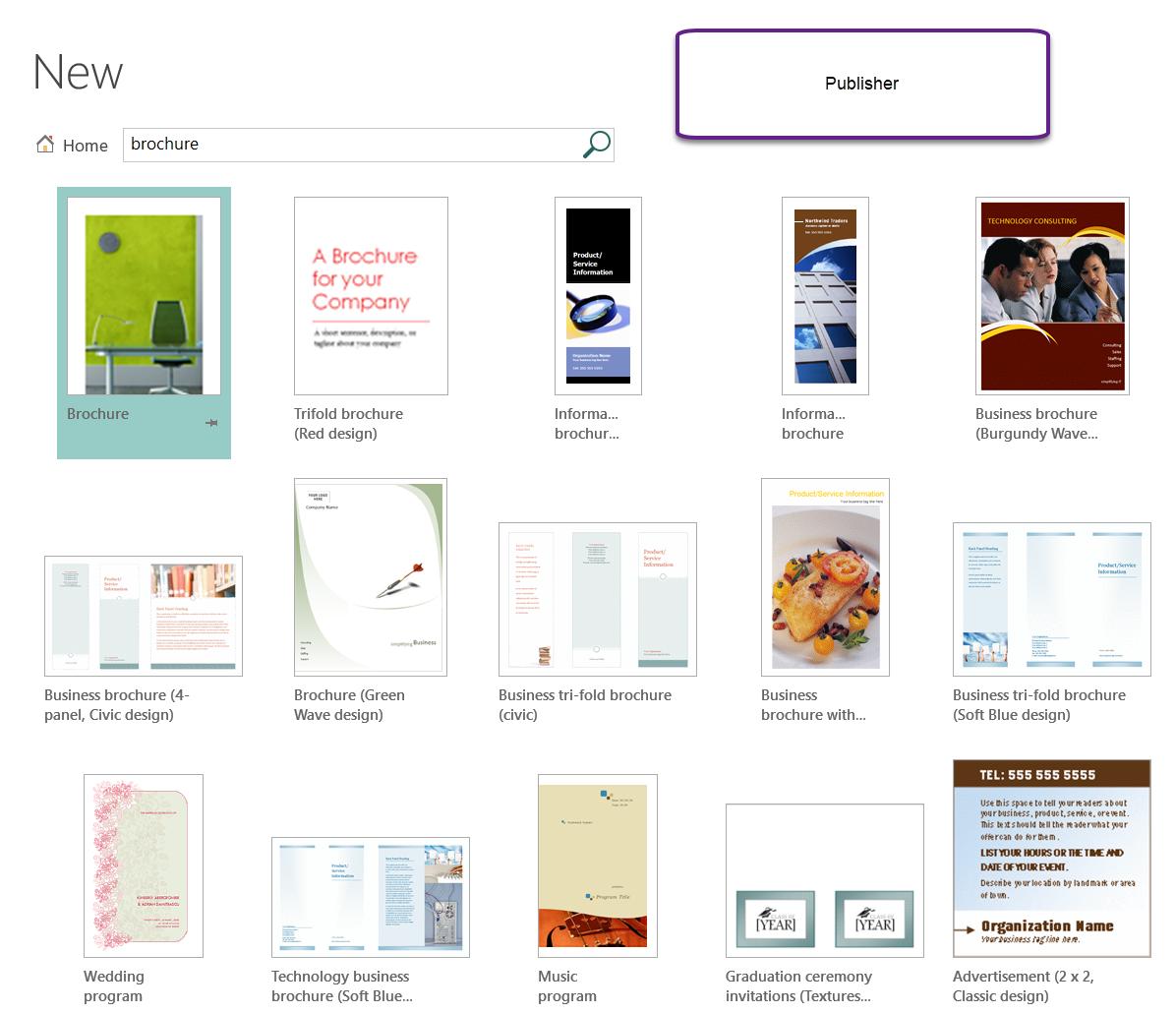 Microsoft Powerpoint Designs: Brochure Template In Powerpoint