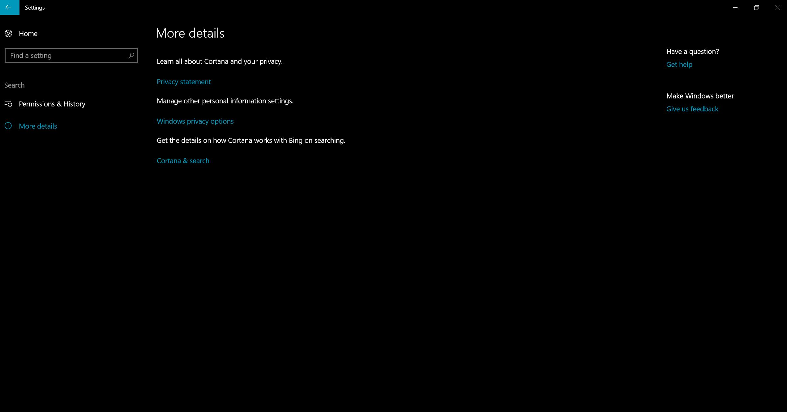 I chose not to enable Cortana on system setup  Now, I cannot