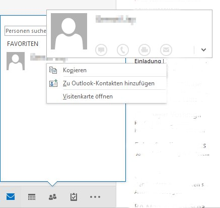 Deleting Removing A Contact From Favorites In Outlook