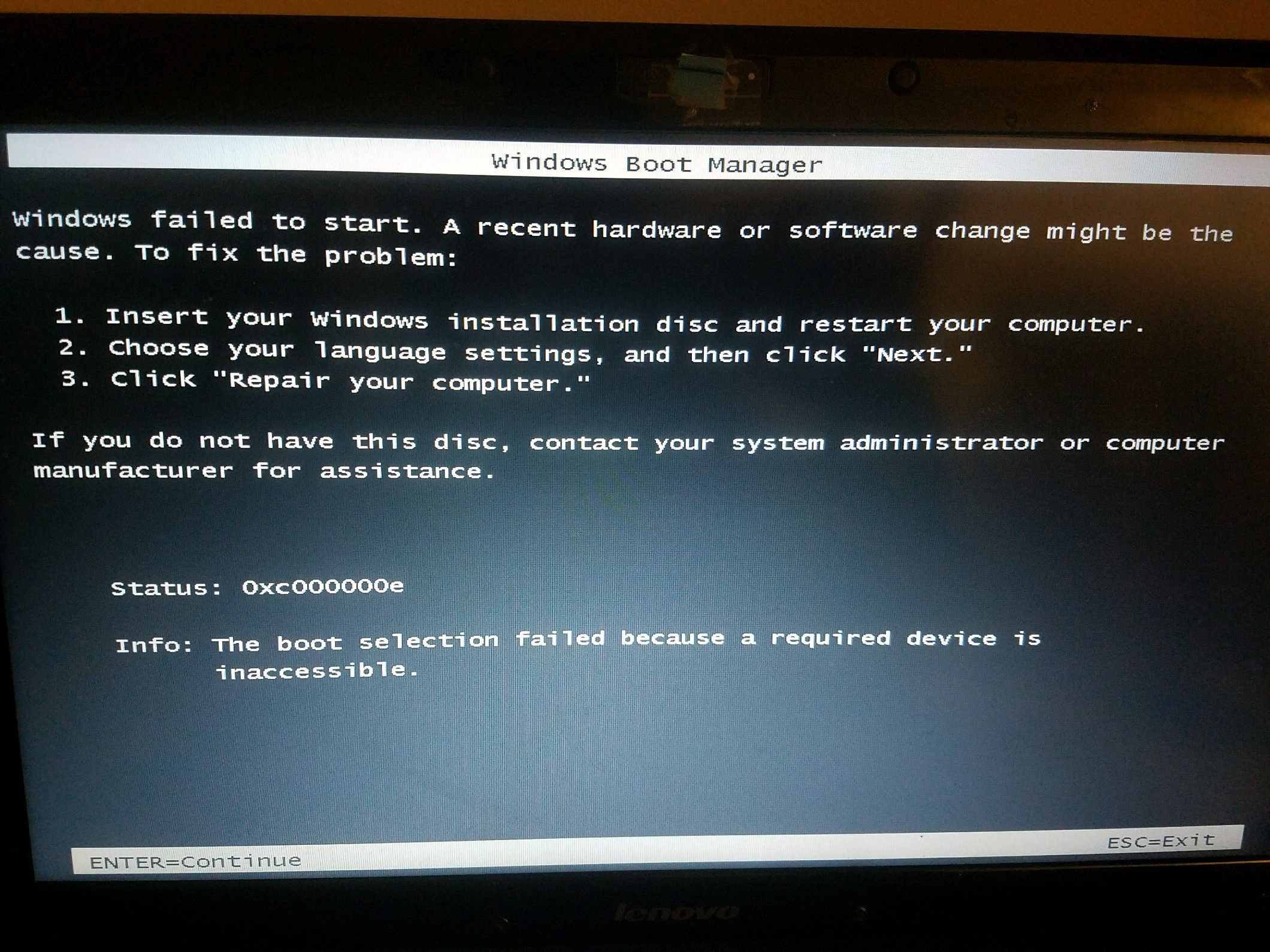 Windows 7 doesn't boot up, switches to black