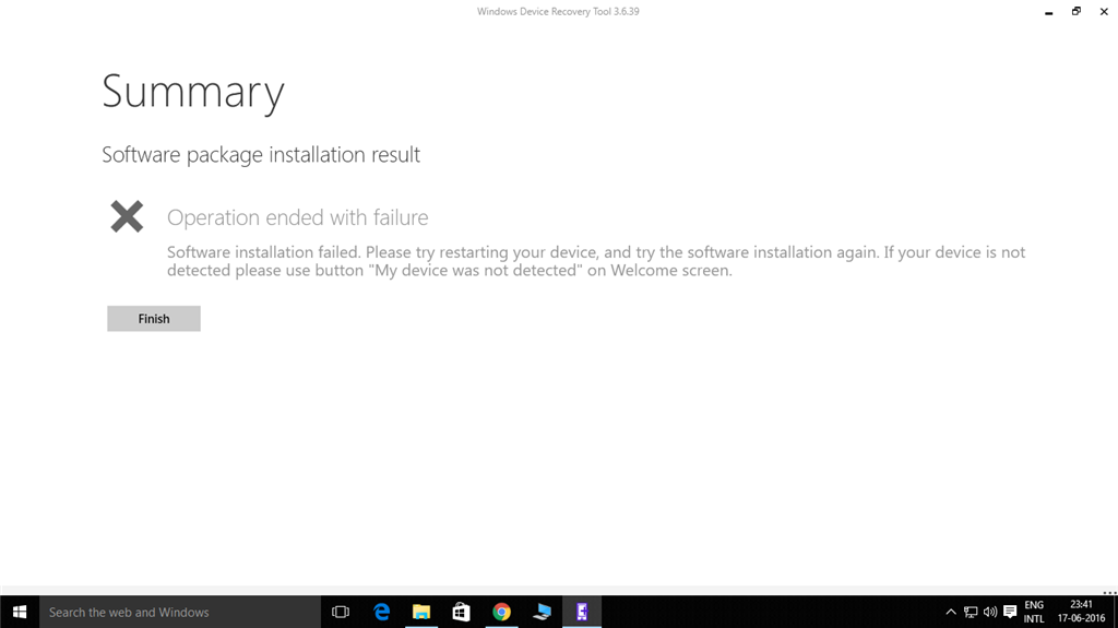 Firmware installation failed in Lumia 520 - Microsoft Community