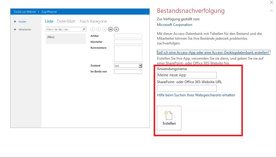 Access Offline-Vorlagen herunterladen (OHNE - Microsoft Community