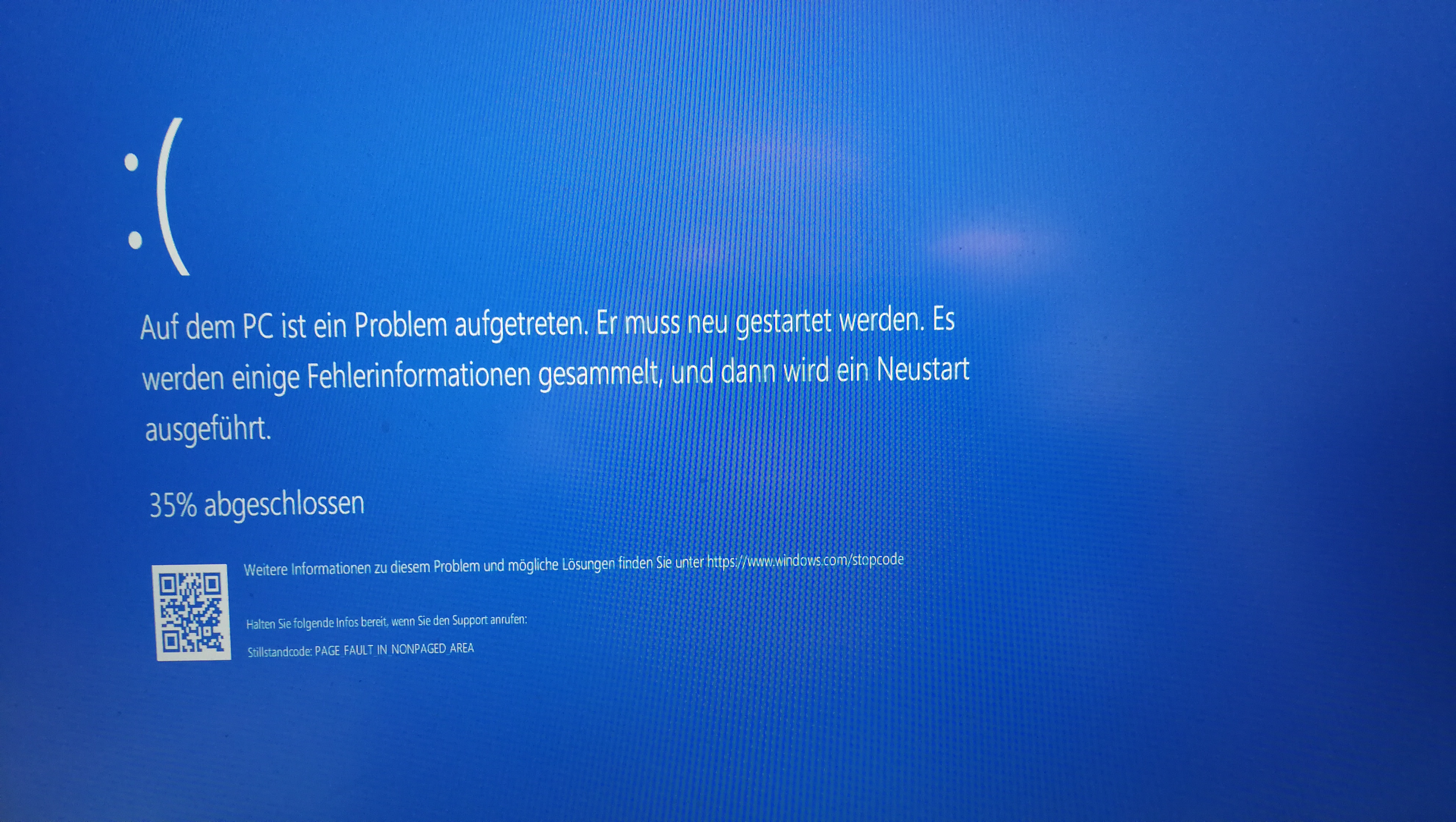 Bluescreen: PAGE_FAULT_IN_NONPAGED_AREA