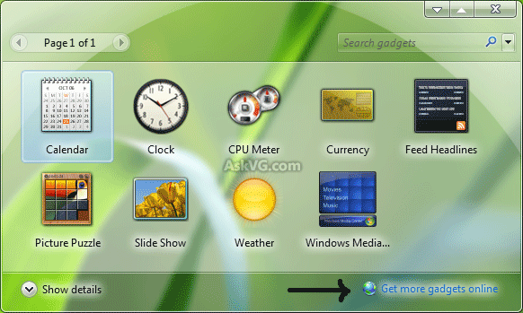 How to bring desktop gadgets to windows 10 « windows tips.