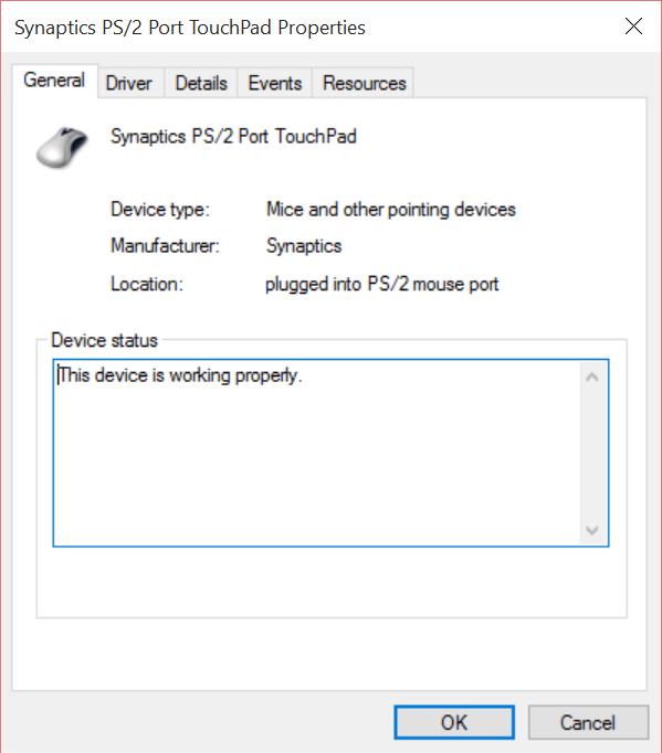 Windows 10 multi finger Gestures missing in Synaptics v 19 0 19 1