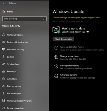 Rollback from Windows 10 Build 18947 #3