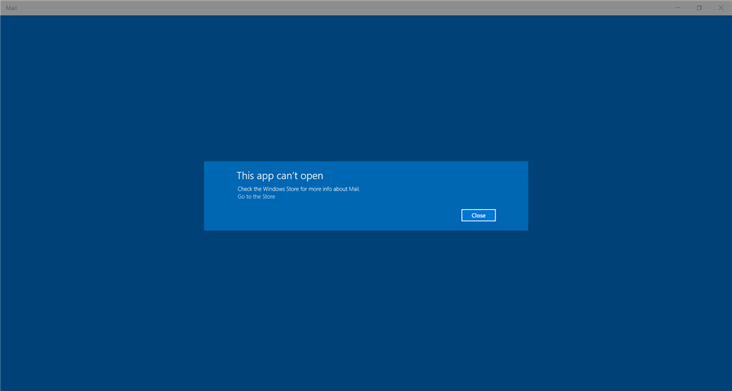 Apps issue with Windows 10 - Microsoft Community