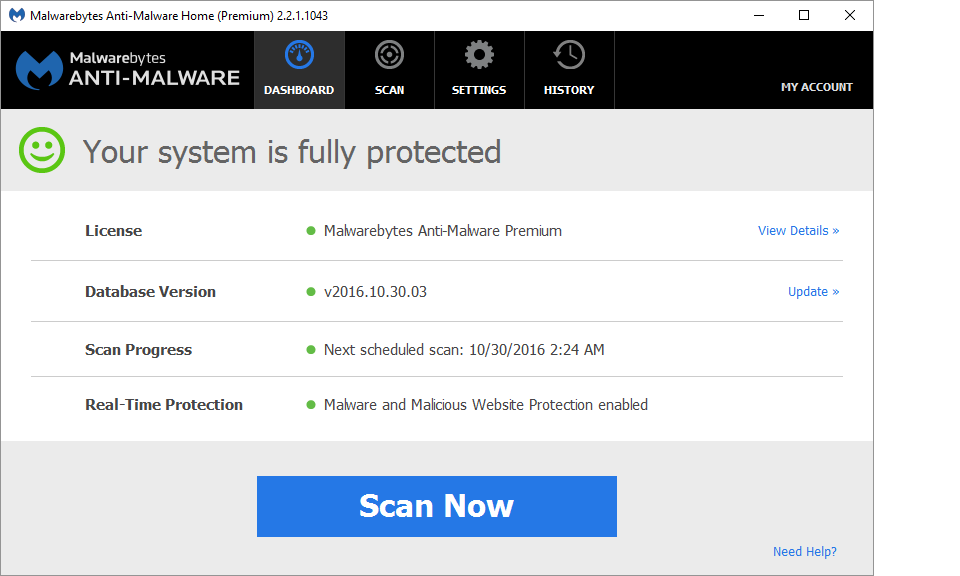 anti malware gratis italiano 2.2.1