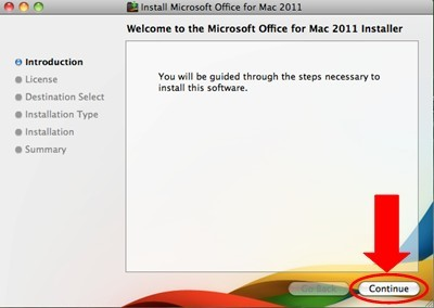 Office 2011 Installation - Step by Step Instruction - Microsoft
