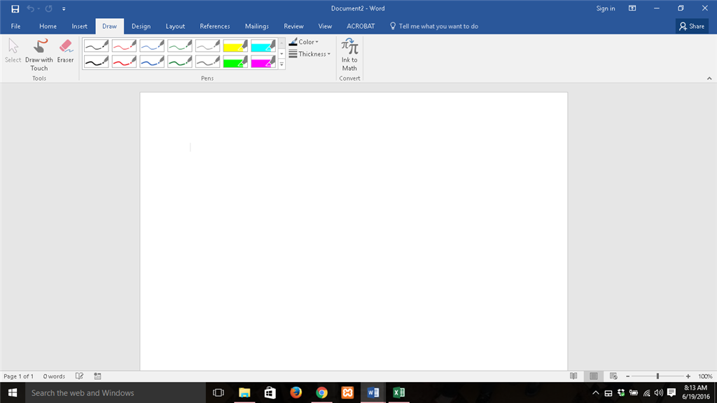 Draw Tab Keeps Disappearing From Ribbons In Excel Word And Ppt