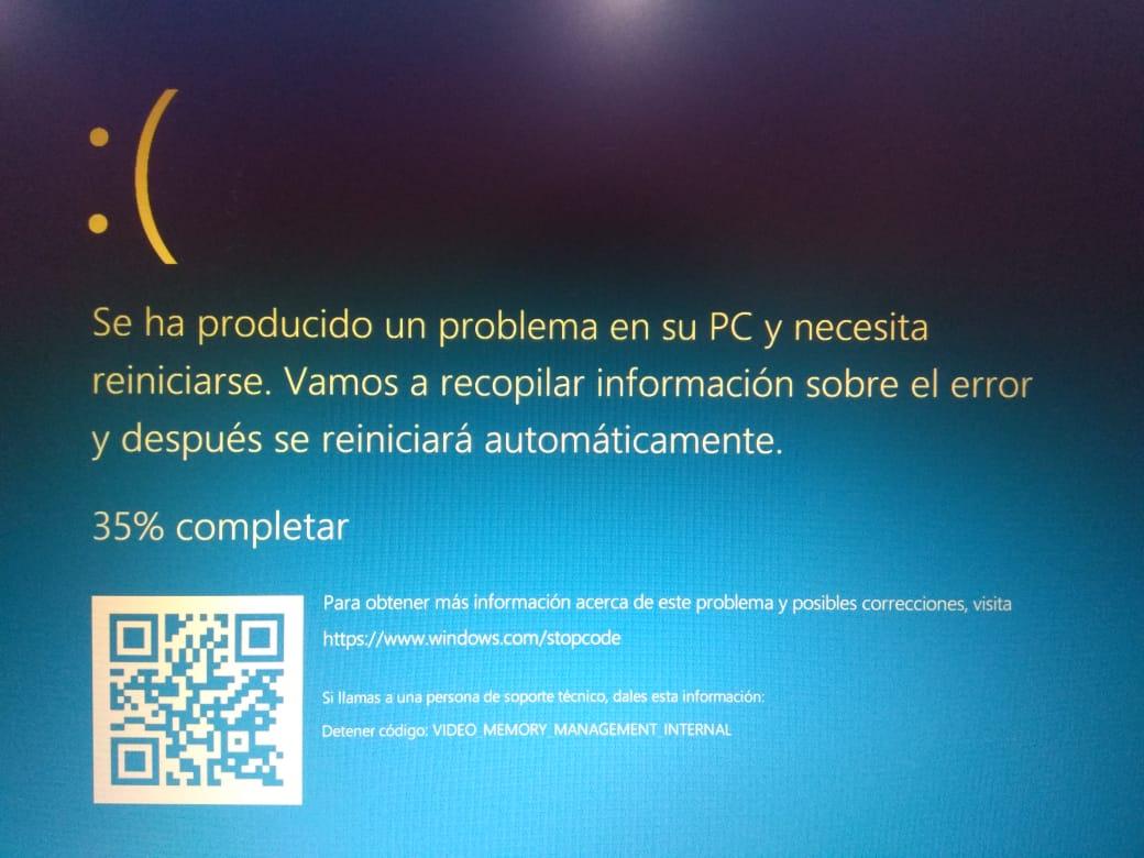 windows stop code memory management internal