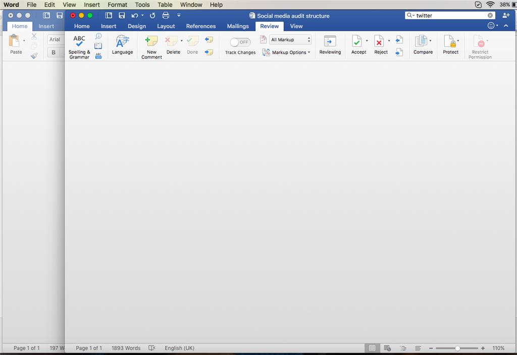Why Has My Word Doc Suddenly Gone Blank Microsoft Community - Blank word document