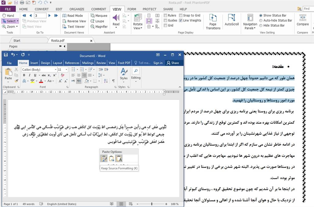 Convert Persian/Arabic PDF to Word - Microsoft Community